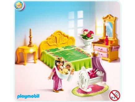 Chambre de bébé princesse playmobil - Modèle de tricot gratuit