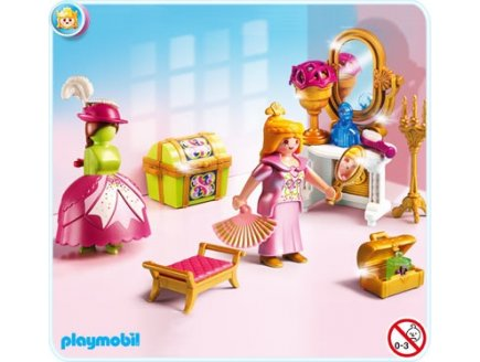 playmobil chateau de la princesse 5148 salon de beaute de princesse - Play Mobile Fille