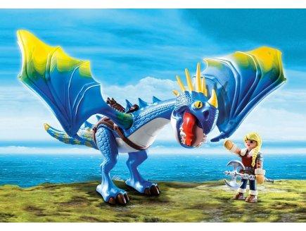 PLAYMOBIL DRAGONS 9247 ASTRID ET TEMPETE
