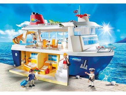 achat vente playmobil family fun 6978 bateau de croisi re. Black Bedroom Furniture Sets. Home Design Ideas