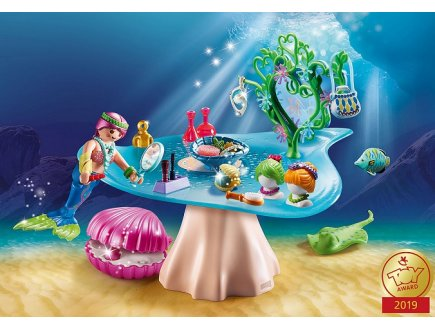 PLAYMOBIL MAGIC 70096 SALON DE BEAUTE ET SIRENE