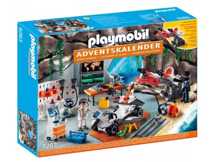 PLAYMOBIL NOEL 9263 CALENDRIER AVENT TOP AGENTS