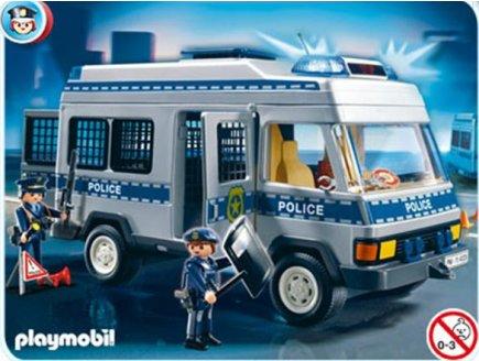 PLAYMOBIL POLICE 4023 FOURGON DE POLICE