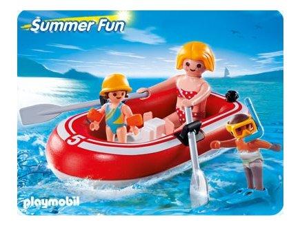 Playmobil summer fun playmobil 5439 bateau pneumatique playmobil vacances - Bateau pneumatique enfant ...
