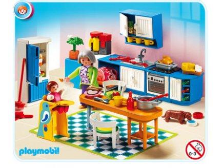 Playmobil rfrence 5329 playmobil vie en ville - Cuisine playmobil 5329 ...