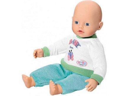 POUPON MY LITTLE BABY BORN BASIQUE VERT 32 CM - ZAPF CREATION