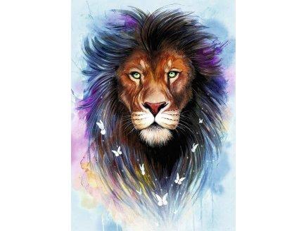 PUZZLE MAJESTUEUX LION 1000 PIECES - COLLECTION ANIMAL DE SAVANE - RAVENSBURGER 139811