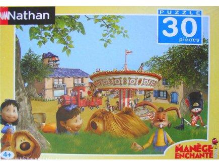 PUZZLE MANEGE ENCHANTE 30 PIECES - NATHAN - 862733