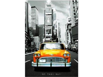 PUZZLE TAXI N°1 NEW YORK 1000 PIECES - EDUCA - 14468