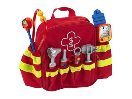 Sac à dos urgences médicales enfant Jouet Klein Docteur