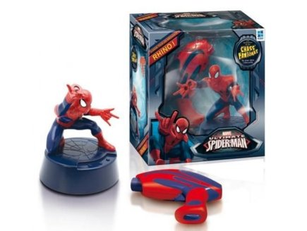 SPIDER-MAN CHASS' RHINO - MEGABLEU - JEU D'ACTION ENFANT