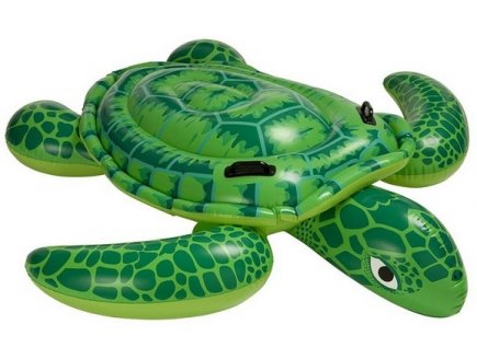 TORTUE GONFLABLE A CHEVAUCHER - INTEX - 57524NP - JEU PISCINE