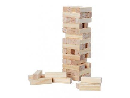 Tour folle infernale en bois jeu société construction