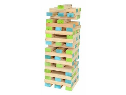 jenga gant en bois jeu de plein air gant jouet en bois plein air. Black Bedroom Furniture Sets. Home Design Ideas