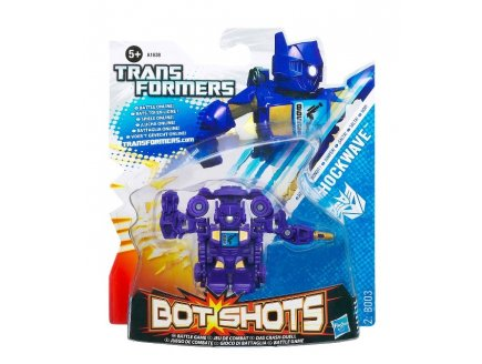 TRANSFORMERS BOT SHOTS SHOCKWAVE - HASBRO - A1638