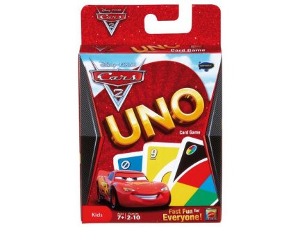acheter uno cars 2 jeu de cartes uno pas cher jouet disney cars ds 7 ans. Black Bedroom Furniture Sets. Home Design Ideas