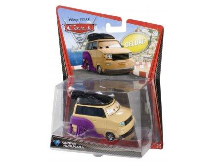 VEHICULE CARS 2 DELUXE KINGPIN NOBUNAGA - VOITURE MINIATURE - MATTEL - V2848