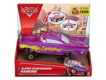 VEHICULE RAMONE SUPER SUSPENSION - VOITURE MINIATURE - MATTEL - DHD70