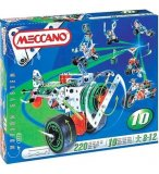 10 MODELES MECCANO MULTIMODELS - AVION - MOTO - JEU DE CONSTRUCTION