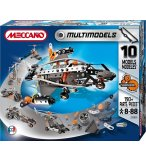 10 MODELES NEW GENERATION MECCANO MULTIMODELS - AVION - MOTO - JEU DE CONSTRUCTION - 835550