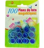 100 PIONS MAGNETIQUES BLEU - LOTOQUINE  ACCESSOIRE LOTO