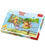 2 PUZZLES ENFANT DISNEY WINNIE ET SES AMIS 24 - 48  PIECES - TREFL - 34104