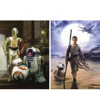 2 PUZZLES STAR WARS VII LE REVEIL DE LA FORCE 500 PIECES - EDUCA - 16523