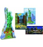 3 PUZZLES ENFANT NEW-YORK 40 - 60 - PIECES - COLLECTION NATHALIE LETE - VILAC - 8640