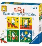 4 PUZZLES PROGRESSIFS MIFFY 2 - 3 - 4 - 5 PIECES - RAVENSBURGER - 071463