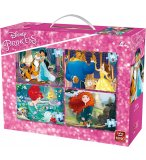 4 PUZZLES PROGRESSIFS PRINCESSES DISNEY 12 - 16 - 20 - 24 PIECES - KING - 05508