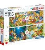 4 PUZZLES PROGRESSIFS WINNIE L'OURSON 20 ET 60 PIECES - CLEMENTONI 07618