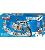 5 MODELES MECCANO MULTIMODELS - VTT - VELO - JEU DE CONSTRUCTION - 833501
