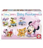 5 PUZZLES PROGRESSIFS BABY MINNIE 3 - 5 PIECES - EDUCA - 15612