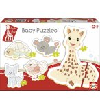 5 PUZZLES PROGRESSIFS SOPHIE LA GIRAFE 3 - 5 PIECES - EDUCA - 15490