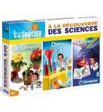 A LA DECOUVERTE DES SCIENCES : BOTANIQUE CHIMIE OPTIQUE - CLEMENTINI CPS - 52036