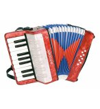 ACCORDEON EN BOIS 17 TOUCHES 8 BASSES - BONTEMPI - 331730 - JOUET INSTRUMENT