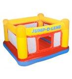AIRE DE JEUX TRAMPOLINE GONFLABLE JUMP-O-LENE - INTEX - 48260NP