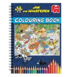 ALBUM A COLORIER JAN VAN HAASTEREN - COLORIAGES ADULTES - JUMBO