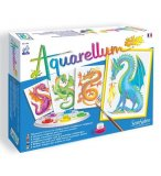 AQUARELLUM JUNIOR DRAGONS - SENTOSPHERE - 693 - LOISIRS CREATIFS