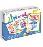 AQUARELLUM JUNIOR MAGICAL GIRLS - SENTOSPHERE - 697 - LOISIRS CREATIFS