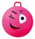 BALLON SAUTEUR SMILEY CLIN D'OEIL 65 CM ROSE - SKIPPY BALL - JEU POUR REBONDIR ENFANT