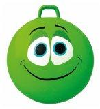 BALLON SAUTEUR SMILEY CONTENT 65 CM VERT - SKIPPY BALL - JEU POUR REBONDIR ENFANT