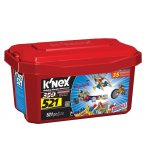 BARIL ROUGE 35 MODELES K'NEX 521 PIECES - 12575 - JEU DE CONSTRUCTION
