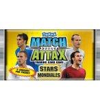 BOOSTER MATCH ATTAX WORLD STARS FOOTBALL - CARTES A COLLECTIONNER