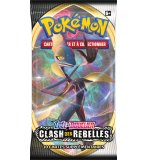 BOOSTER POKEMON EPEE ET BOUCLIER 2 - CLASH DES REBELLES - ASMODEE - CARTES A COLLECTIONNER