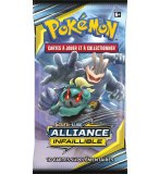 BOOSTER POKEMON SOLEIL ET LUNE 10 - ALLIANCE INFAILLIBLE - ASMODEE - CARTES A COLLECTIONNER