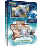C0FFRET POKEMON POXYSEPT02 - COFFRET KYOGRE BLEU - CARTE A COLLECTIONNER - ASMODEE