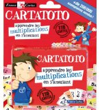 CARTATOTO MULTIPLICATIONS - FRANCE CARTES - JEU DE CARTES - JEU EDUCATIF