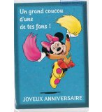 CARTE D'ANNIVERSAIRE MINNIE (40)