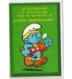 CARTE D'ANNIVERSAIRE SCHTROUMPF (28)